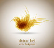 Abstract vector bird Stock Images
