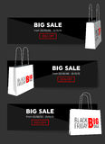 Abstract vector 2016 Black Friday layout background. For creative art design, list, page, mockup theme style, banner. Concept idea, cover, sale booklet, print Stock Photography