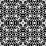 Abstract vector black and white repeated patterns. Many uses for paintings,printing,mobile backgrounds, book,covers,screen savers, web page,logo,mono, greeting royalty free illustration