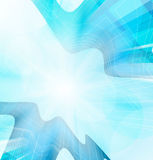 Abstract vector blue background Stock Photos