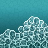 Abstract vector blue pattern with waves, wave Stock Images