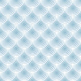 Abstract vector blue seamless transparent circles  Stock Images