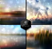 Abstract Vector blur background Stock Images