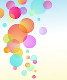 Abstract vector bubble baloon Royalty Free Stock Photography