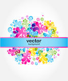 Abstract vector card Royalty Free Stock Images