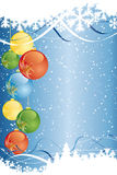 Abstract Vector Christmas Background Stock Photography