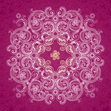 Abstract vector circle background. Stock Photography