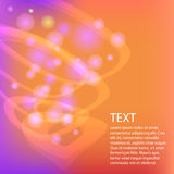 Abstract vector circles background Stock Photography