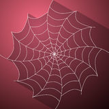 Abstract Vector Cobweb Illustration Stock Image