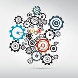 Abstract vector cogs - gears Stock Photos