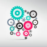Abstract Vector Cogs - Gears. Illustration Stock Illustration
