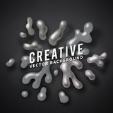 Abstract vector color splash background paint Royalty Free Stock Photography