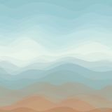 Abstract Vector Color Wavy Background Royalty Free Stock Photos