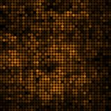 Abstract vector colored round dots background. Brown royalty free illustration