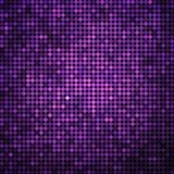 Abstract vector colored round dots background. Purple and violet Royalty Free Stock Photos