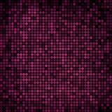 Abstract vector colored round dots background. Violet royalty free illustration