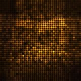 Abstract vector colored round dots background. Brown Stock Photo