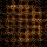 Abstract vector colored round dots background. Brown vector illustration
