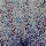 Abstract vector colored round dots background. Gray Royalty Free Stock Images