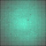Abstract vector colored round dots background. Green Royalty Free Stock Image