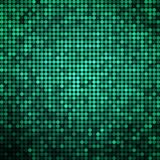 Abstract vector colored round dots background. Green Royalty Free Stock Photography