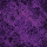Abstract vector colored round dots background. Purple and violet royalty free illustration