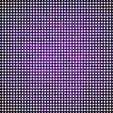 Abstract vector colored round dots background. Violet Stock Images