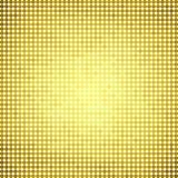 Abstract vector colored round dots background. Yellow Royalty Free Stock Images