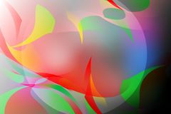 Abstract vector colorful background with bright colors vector illustration Royalty Free Stock Images