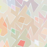 Abstract vector colorful background of broken lines Royalty Free Stock Image