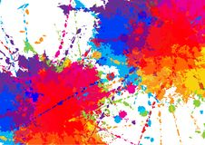 Abstract vector colorful background design. illustration vector design. Abstract vector splatter colorful background design. illustration vector design royalty free stock photo