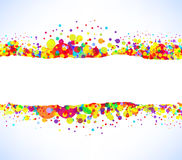 Abstract vector colorful banner background Stock Photo