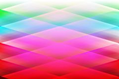 Abstract vector colorful shaded background with blur lines 3 d effects Stock Image