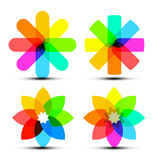 Abstract Vector Colorful Shapes Stock Photos