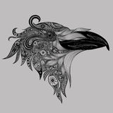 Abstract vector crow Stock Photo