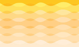 Abstract vector curve orange and yellow tone background Stock Photos