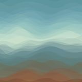 Abstract Vector of Dark Color Wavy Background. Abstract Design Creativity Background of Dark Color Horizontal Waves, Vector Illustration EPS10 Royalty Free Stock Images