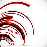Abstract vector dark red spiral background Royalty Free Stock Photography