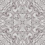 Abstract vector decoratief etnisch naadloos patroon Stock Afbeelding