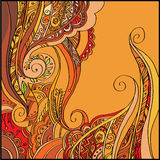 Abstract vector decorative background Royalty Free Stock Images