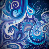 Abstract vector decorative background Stock Images