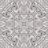 Abstract vector decorative ethnic seamless pattern Stock Image