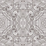 Abstract vector decorative ethnic seamless pattern Royalty Free Stock Image