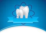 Abstract vector dental illustration Stock Images