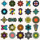 Abstract vector design elements collection Royalty Free Stock Photos