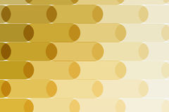 Abstract vector design elements for graphic layout. Modern business background template with yellow gold lines, rounded shapes for branding, template Royalty Free Stock Image