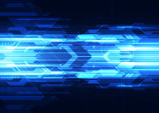 Abstract vector digital technology background design Stock Photography