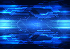 Abstract vector digital technology background design Royalty Free Stock Image