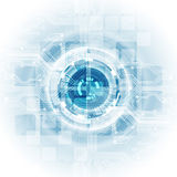 Abstract vector engineering technology background, illustration Royalty Free Stock Image