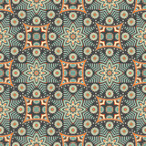 Abstract vector ethnic background seamless pattern Stock Images